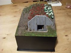 how to build an anderson shelter instructions School Projects, Projects For Kids, Craft Projects, School Ideas, Anderson Shelter, Army Crafts, Diy And Crafts, Crafts For Kids, Bomb Shelter