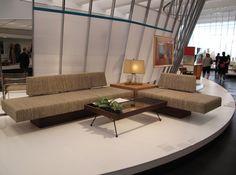 Calif. Design Exhibit 1960s Living Room...Iove that design of sofa set and tables!!!!