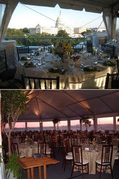 Charlie Palmer Steak Rooftop Terrace
