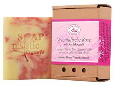 """I swear: This is the best soap ever! It is hand-made in Karlsruhe, Southern Germany, by a very small factory named """"Soap Mystic"""". Soap Mystic is run by Carola Krastinat who has a degree in chemistry."""