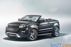 Beautiful Land Rover Range Rover Evoque Convertible Prototype.