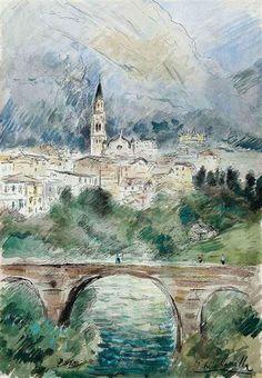 Michele Cascella - Cortina D'Ampezzo, Italy,