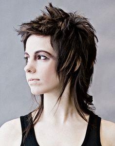 long rocker hair