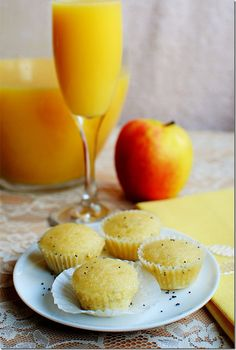 Orange Glazed Mini Poppy Seed Muffins | iowagirleats.com