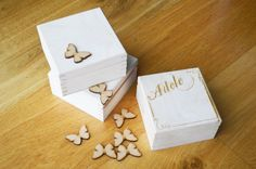 Personalised Laser Engraved Jewellery Box Treasure by craftByJS
