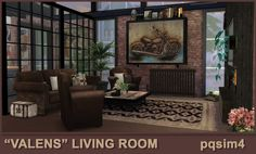 """""""Valens"""" Living Room - created by pqSim4"""