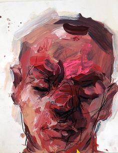 Pink Head Study // Elly Smallwood