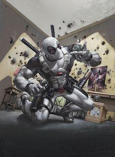 Deadpool by Clayton Crain