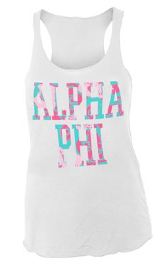 alpha phi | sorority sugar