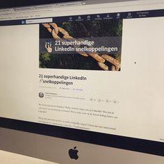Op LinkedIn even een handig overzicht geplaatst met daarin snelkoppelingen naar diverse onderdelen van LinkedIn. Check mijn bio om naar het artikel te gaan.