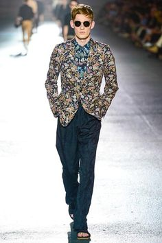 Brian Edward Millett - The Man of Style - Dries van Noten spring 2014