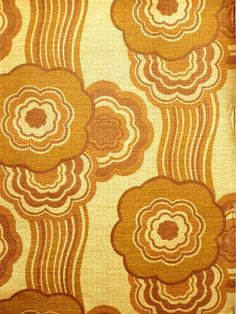 Stunning Gold Geometric Wallpaper 1970s by Crown