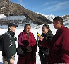 Role of Tibetan Buddhist monasteries in snow leopard conservation. http://www.dragonflyworkshops.org/messages/show_attachment/564026