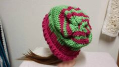 Check out this item in my Etsy shop https://www.etsy.com/listing/502245476/a-ponytail-hat-slouchy-hat-and-headband