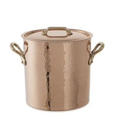Mauviel 1830 Copper Stock Pot #williamssonoma