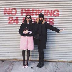 Candela Novembre & I in New York