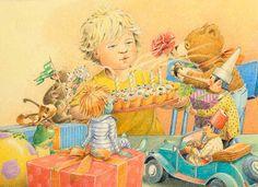 Bernhard Oberdieck  ILLUSTRATION Illustration Geburtstagsgeschenke