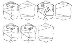 V8954 | Misses' Vest | | Vogue Patterns