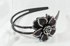 $19.99 Dark Amethyst (Dark Purple) Flower Rhinestone Headband, Perfect for Women, Teens & Girls, Bling Bling Hair Accessory. Perfect for Christmas, Church, First Communion, Easter, Graduation, Sunday Dress, Christening or Birthday. by Hail Mary Gifts, http://www.amazon.com/dp/B005IDBNEG/ref=cm_sw_r_pi_dp_t1lWqb01Q97DT