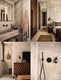 Casa Cook Kos - another splendid boho hotel in Greece Lounge Design, Hotel Room Design, Decoration Inspiration, Interior Design Inspiration, Home Interior Design, Interior Modern, Casa Cook, Hotel Decor, Hotel Interiors