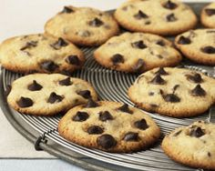 Choc chip cookies.... uber delicious and Mitch/Rube certified!