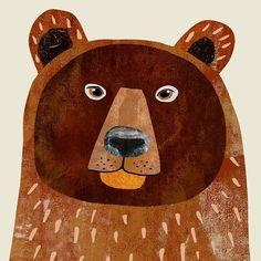 Bear Illustration, Teddy Bear, Christmas Ornaments, Toys, Holiday Decor, Drawings, Bears, Animals, Illustrations