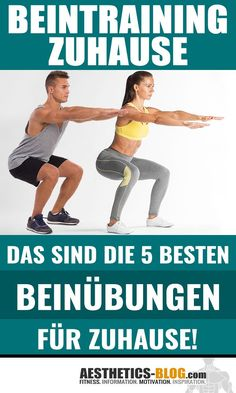 Beinübungen Bodybuilding