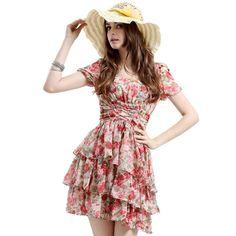photos of romantic folk fashion trends Pretty Little Dress, Little Dresses, Modest Dresses, Casual Dresses For Women, Hippie Chic Fashion, Folk Fashion, Ethnic Fashion, Romantic Fashion, Women's Fashion