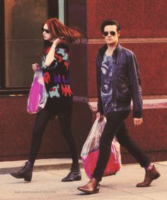 Matt Smith, Karen Gillan. This picture is so fab I can't even handle it.