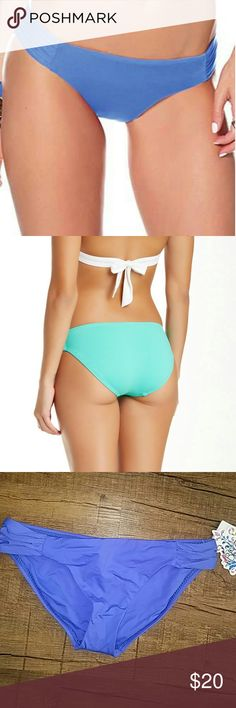 🆑Becca Bottom Becca Swimwear hipster bottom. Full behind coverage. Could fit a s/m BECCA Swim Bikinis