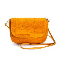 Small, cute #Strap #Bag & #Clutch made of silky smooth #cork #leather | 100% #sustainable and #vegan | CHF 113.00 | free delivery & return within Switzerland