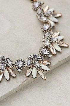 Lavande Bib Necklace by BaubleBar Anthropologie | Skirt the Ceiling | skirttheceiling.com
