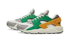 sports shoes b15af 6fe54 Nike Air Huarache Green Gold-852628-300 Zapatillas, Nike Air Huarache,  Zapatos