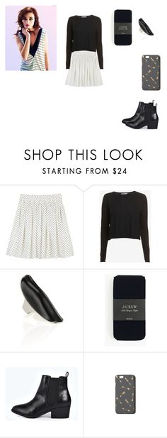 """Allison Argent Outfit"" by zoegeorgiou2001 on Polyvore featuring Autumn Cashmere, IaM by Ileana Makri, J.Crew, Boohoo and Abercrombie & Fitch"
