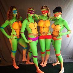 ninja turtles madchen nackt cosplay