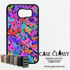 Abstract colorful butterflies Samsung Galaxy S6 Edge Plus Case CaseClassy just $11.85 on caseclassy.com #phonecase #shopify #googleshopping #shopping #samsungs6edge #Samsung