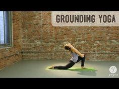 Grounding Yoga Routine: Root & Anchor (intermediate level) - YouTube
