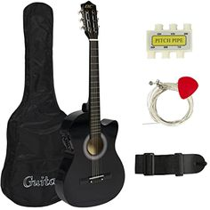 Best Choice #Electric #Acoustic Beginner #Amatuer #Unisex #Guitar Cutaway Design #BestChoiceProducts