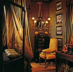 striped interiors