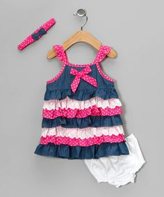 this gorgeous weather has me excited for summer baby girl clothes! Precious little outfits on zulily today.