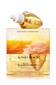 Sunset+Beach+Wallflowers+2-Pack+Refills+-+Home+Fragrance+1037181+-+Bath+&+Body+Works