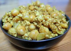Recipes for Denny: Chickpea and Chicken Curry