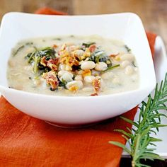Creamy White Bean and Kale Soup