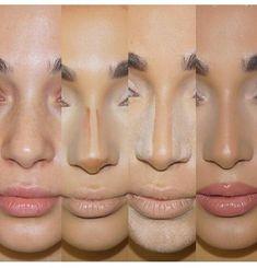 – Contour Tips for a slimmer nose - Makeup Tips Highlighting Makeup Goals, Makeup Inspo, Makeup Inspiration, Makeup Tips, Makeup Ideas, Makeup Tutorials, Makeup Art, Makeup Salon, Makeup Studio