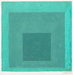 Josef Albers / Study for Homage to the Square