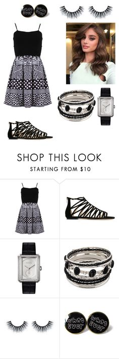 """""""Summer Day"""" by poopy123-1 ❤ liked on Polyvore featuring FRACOMINA, Jimmy Choo and Chanel"""