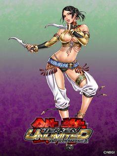 Zafina Tekken Shunya Yamashita
