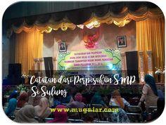 Catatan dari Perpisahan SMP Si Sulung | Mugniar's Note