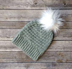 The Cambridge Beanie - A free pattern by Croyden Crochet