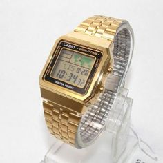 A500WGA-1DF Relogio Casio Digital Dourado